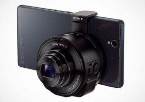 Accesorio de cámara de Sony para iPhone