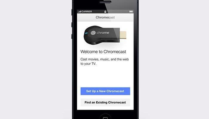 Aplicación de Chromecast para iOS