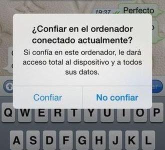 Arreglo del bug para hacker iPhone desde cargador en iOS 7