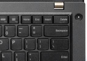 Tecla suprimir en un PC