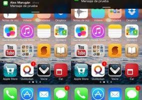 Rechaza notificaciones en iOS 7