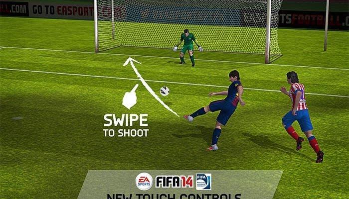 Captura de FIFA 14 para iOS