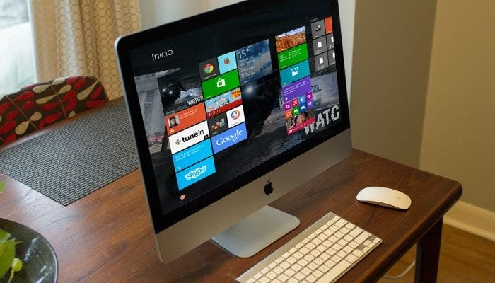 iMac con Windows 8