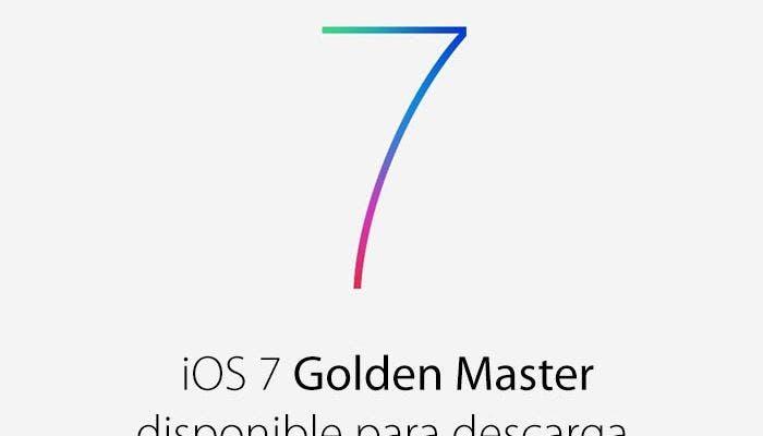 iOS 7 Golden Master