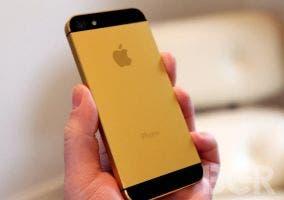 Cómo quedaría el iPhone 5S de color dorado