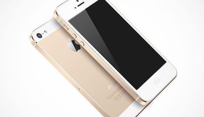 Un futuro iPhone 5S puede llegar en color dorado