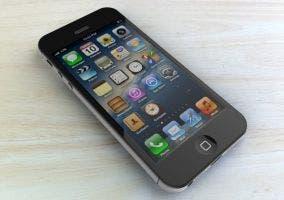 iPhone 5 y su fondo de pantalla
