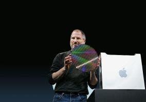 Steve Jobs presentando el PowerMac G5
