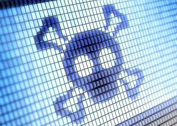 Calavera de malware