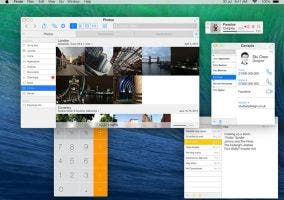 Interfaz de OS X Mavericks