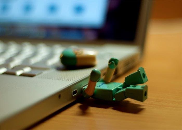 Un pendrive en Mac