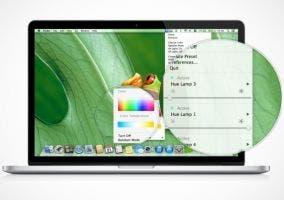 Aplicación para controlar las bombillas Philips Hue desde OS X