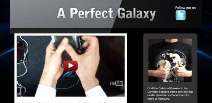 Tumblr falso de Samsung