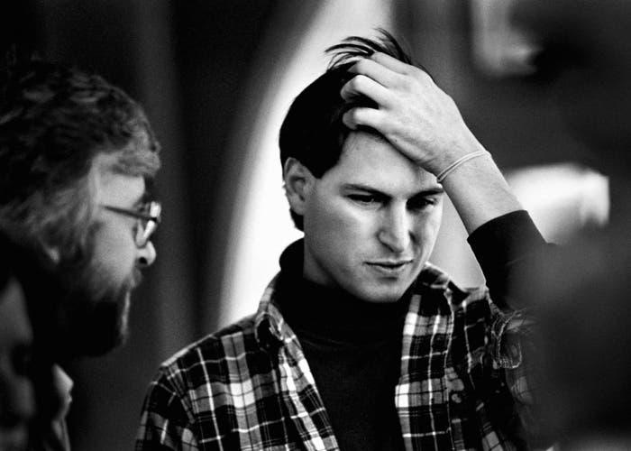 Una de tantas fotos realizadas por el artista neoyorquino a Steve Jobs