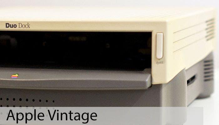 Apple Vintage, PowerBook Duo Dock