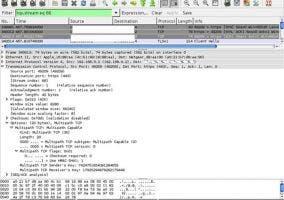 Captura multipath TCP iOS 7