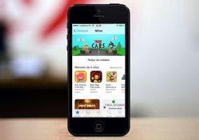 Sección de la App Store dedicada a los niños