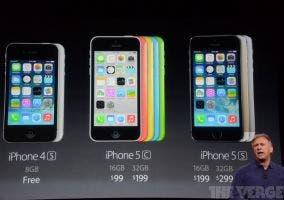 iPhone compatibles con iOS 7