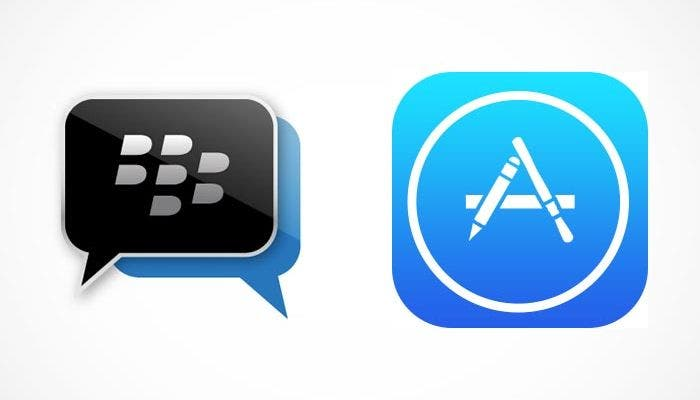BlackBerry Messenger en la App Store