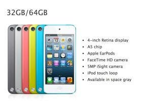 iPod touch disponible en un nuevo gris