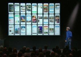 Aplicaciones adaptadas a la interfaz de iOS 7
