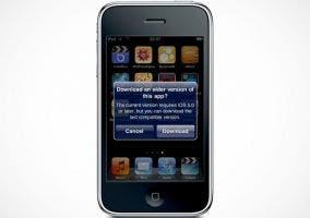 Mensaje de la App Store