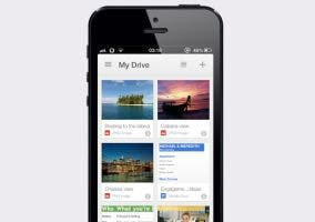 Google Drive en un iPhone