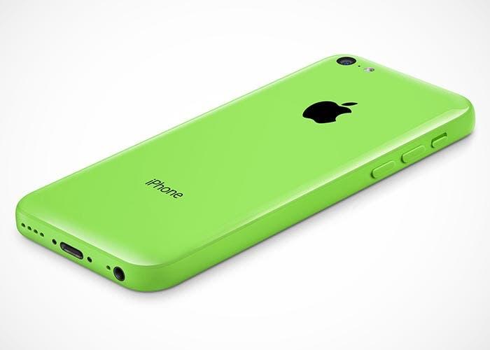 Parte trasera del iPhone 5c