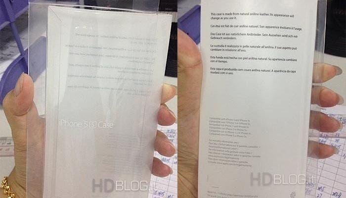 Funda de piel para el iPhone 5S