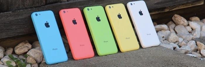 Gama de colores de iPhone 5C