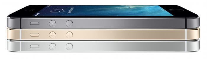 iPhone 5S apilados