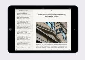 Reeder 2 para iPad
