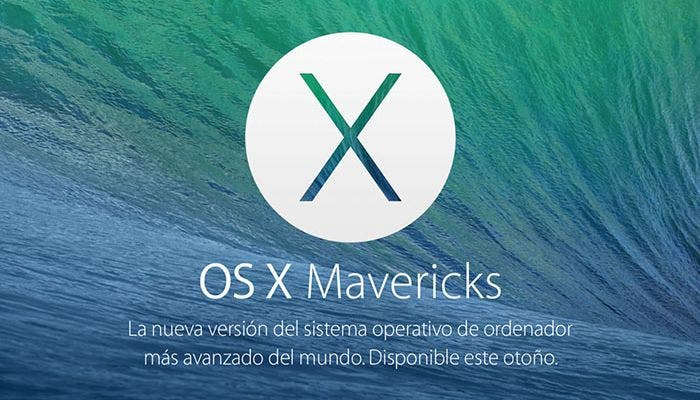 Logotipo de OS X Mavericks