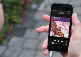 Actualización de Spotify para iOS 7