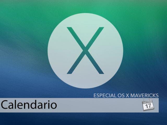 Calendario para OS X Mavericks, el calendario se renueva en el Mac