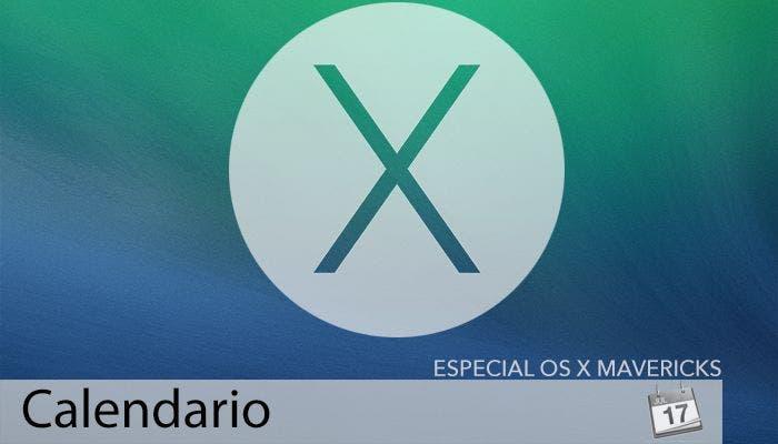 Calendario en OS X Mavericks