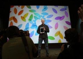 Presentación de los iPad Air de la mano de Tim Cook