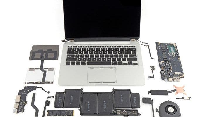 iFixit desmonta los nuevos MacBook Pro
