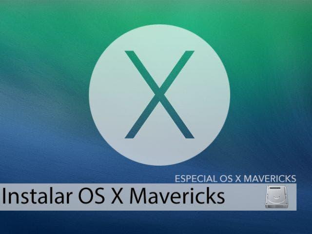Cómo descargar e instalar OS X Mavericks