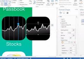 Diseñando iOS 7 en Microsoft Word