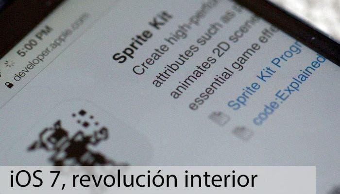 Especial sobre las características para desarrollo del nuevo iOS 7