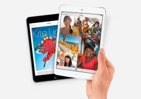 iPad Mini con pantalla de alta resolución