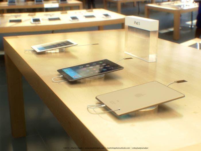 iPad de quinta generación en la Apple Store