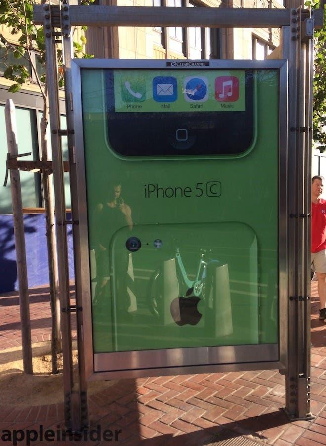 Mupi del iPhone 5c