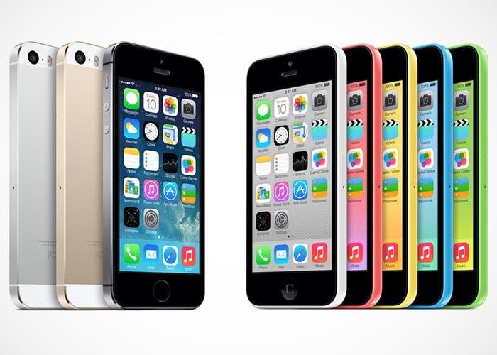 Fotos del iPhone 5s y iPhone 5c