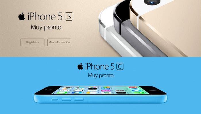 iPhone 5s y 5c disponibles en Vodafone el 25 de octubre