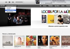 Lista de deseos de la tienda musical de Apple