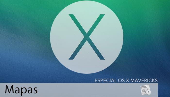 Mapas en OS X Mavericks