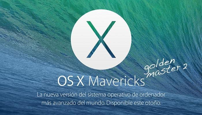 OS X Mavericks Golden Master 2