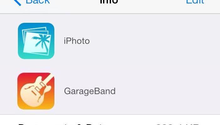 Nuevos iconos de iPhoto y Garageband